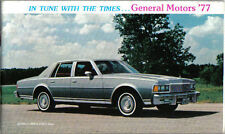 General Motors Chevrolet Pontiac Oldsmobile Buick Cadillac 1977 USA Brochure