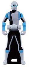 Power Rangers Sentai Legend III Mini Key Figure Tokumei Go-Buster Stag Buster