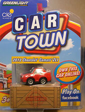 RED 2012 CAMARO ZL1 CAR TOWN SERIES GREENLIGHT PRODUCED ACTION TOY