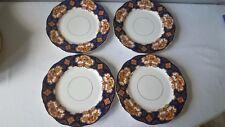 "Royal Albert HEIRLOOM Bone China Salad Plates England 8 1/8"" ~ Lot of 4"