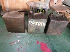 More details for 3 x oil cans vintage