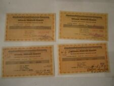 LOT OF 1930'S AMERICAN NATIONAL & SOUTHLAND LIFE INSURANCE COMPANY RECEIPTS BBA6