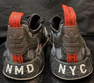 Adidas Nmd boost Sz 10.5 Camo NYC rare Ultra Mesh multi woven lot og