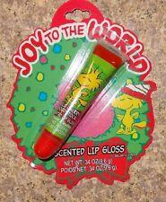 Peanuts Wild Cherry Woodstock Flavored Lip Balm New Christmas Snoopy