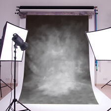 Black Grey Retro Vinyl Photography Backdrop Background Studio Props 3x5FT 14-338