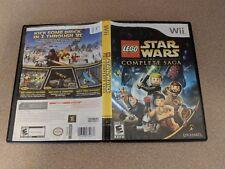 LEGO STAR WARS THE COMPLETE SAGA WII NINTENDO EX+NM CONDITION/-