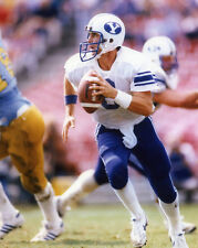 BYU Cougars STEVE YOUNG Glossy 8x10 Photo Print College Football Poster