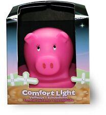 Night Light Nursery Bedroom Comfort Pig 100%25 CHILD BABY SAFE - NEW