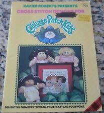 VINTAGE CABBAGE PATCH KIDS CROSS STITCH PATTERN BOOK 1983