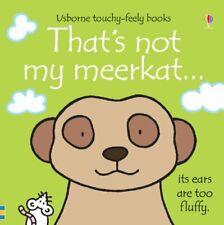 That's Not My Meerkat by Watt, Wells New 9781409562474 Fast Free Shipping+-
