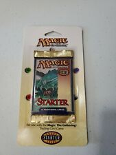 Magic The Gathering Starter Booster Pack, 1999, NEW, SEALED, MTG blister pack
