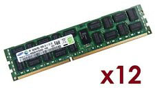 12x 8gb 96gb RDIMM ECC reg ddr3 1333 MHz de memoria f HP ProLiant ml330 g6