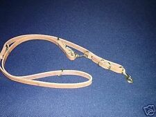 3/4 ALL IN ONE LEASH SCHUTZHUND POLICE K-9 WITH INTERCHANGABLE SNAPS LOOK !!!!!!