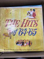 The Hits of 64-65 33 LP Vintage Vinyl Record Rare!