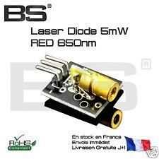 Module laser 5v 5mW 650nm rouge diode laser point arduino pi esp-32 esp-01