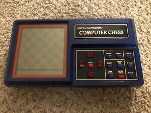 Vintage 1980 Mattel Electronics Computer Chess Prototype Handheld Electronic