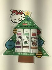 Softlips Limited Edition Hello Kitty Holiday Natural Lip Balm - Variety Pack NIP