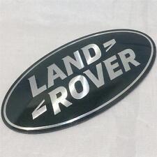 Nouveau oem land rover freelander 1 ovale grill badge mise à niveau vert-argent