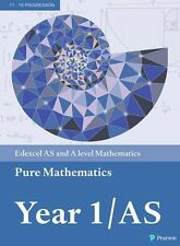 Edexcel AS and A level Mathematics Pure Mathematics Year 1/AS Textbook + e-book by Pearson Education Limited (Mixed media product, 2017)