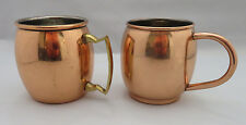 Copper Mules - Lot of 2 - 2 different handles