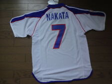 Japan #7 Nakata 100% Authentic Player Issue Soccer Jersey 2001 Away BNWT O [429]