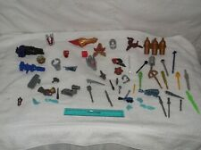 power rangers-action figures-lot of 50-parts & accessories-2000-fair