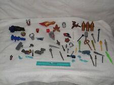 power rangers-action figures-lot of 50-parts & accessories-2000-fair