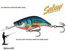 Salmo Sparky Shad 4cm Sinking 3 5 Gr. Colours 2017 1st Class Post Bhs- Blue Holographic Shad