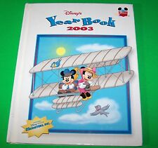 Walt Disney's Year Book 2003 Hard Cover Book - Mickey Mouse - Goofy - Donald