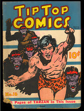 Tip Top Comics #16 Early Golden Age Tarzan United Features Comic 1937 GD-