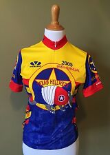 Texas Hell Week 2005 Size Small Armadillo 3/4 Zip Cycling Jersey Shirt Bottle