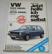 Reparaturanleitung VW Golf 1 I Typ 17 Diesel Jetta Turbodiesel 1983 1984!
