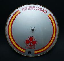 RARE AMBROSIO COLNAGO CERAMICHE ARIOSTEA FRONT ROAD 650C LENTICULAR DISC  WHEEL