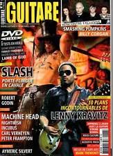 """GUITARE XTREME #48 """"Kravitz,Slash,S.Pumpkins,Machine Head,Nightwish"""" (REVUE+DVD)"""