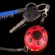 Emergency Personal Alarm Key Chain Anti Rob Security Self Defense Device 120DB