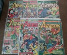 Avengers 132 - 207 (individual Bronze Age issues)