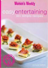 Australian Women's Weekly ~ EASY ENTERTAINING ~ mini cookbook