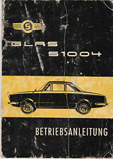 Glas S1004 Betriebsanleitung operating instructions 5/1962