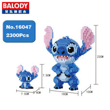 Balody Lilo & Stitch Alien Monster Dog DIY Diamond Mini Building Nano Blocks Toy