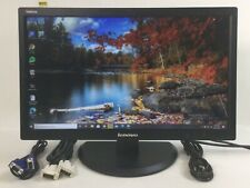 """LENOVO THINKVISION E2223s 21.5"""" FHD WLED BACKLIT LCD MONITOR WIDESCREEN M455"""