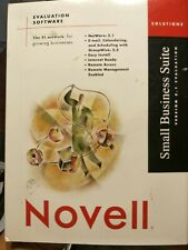Novell Netware 5.1 Small Business Suite  W/ Groupwise 5.5 , and add on a 25users
