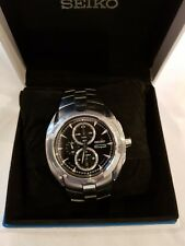 Seiko Arctura SNAC17P1 Chronograph Watch. Sapphire Crystal. RM Special Delivery.