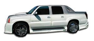 02-06 Cadillac Escalade EXT Platinum Duraflex Side Skirts Body Kit!!! 100335