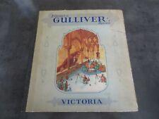 Chromos Victoria Album Voyages de Gulliver's reizen complet