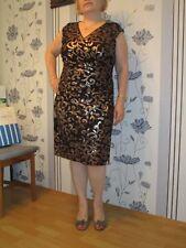 Ralph Lauren,Damen Paillettenbesetztes Kleid,amerik.Gr.14W DE44,Schwarz, NEU!