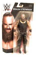 "WWE BRAUN STROWMAN Series 78 NEW Basic 6"" Wrestling Figure Mattel"