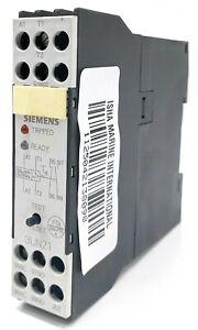 Siemens 3UN21-10-0AN7 Relay Protector 220-240 VAC Motor Thermistor