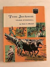 Young Stonewall: Tom Jackson by Helen Albee Monsell - 1961 Civil War General