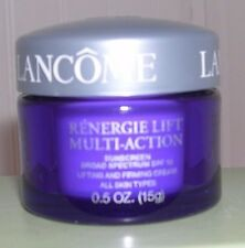 3 Lancome Renergie Lift Multi-Action SPF 15 Lifting Firming Cream .5 oz/15 g Ea