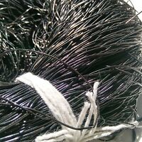 BLACK French Wire, Bullion Wire, Gimp Wire 50/400 Grams FREE SHIPPING Zardosi
